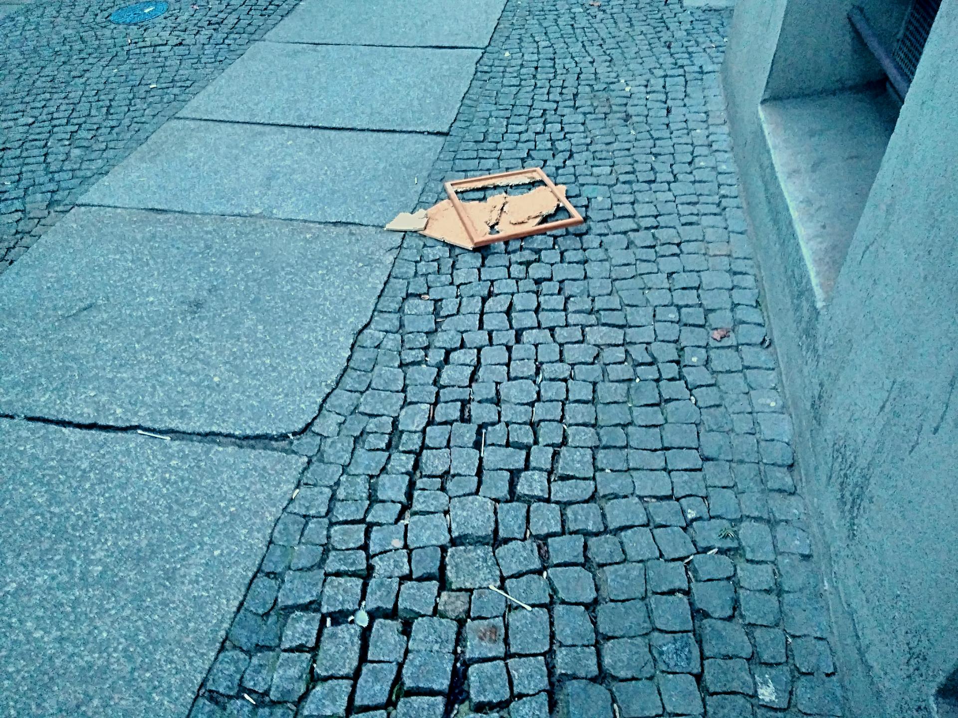 Garbage in Berlin