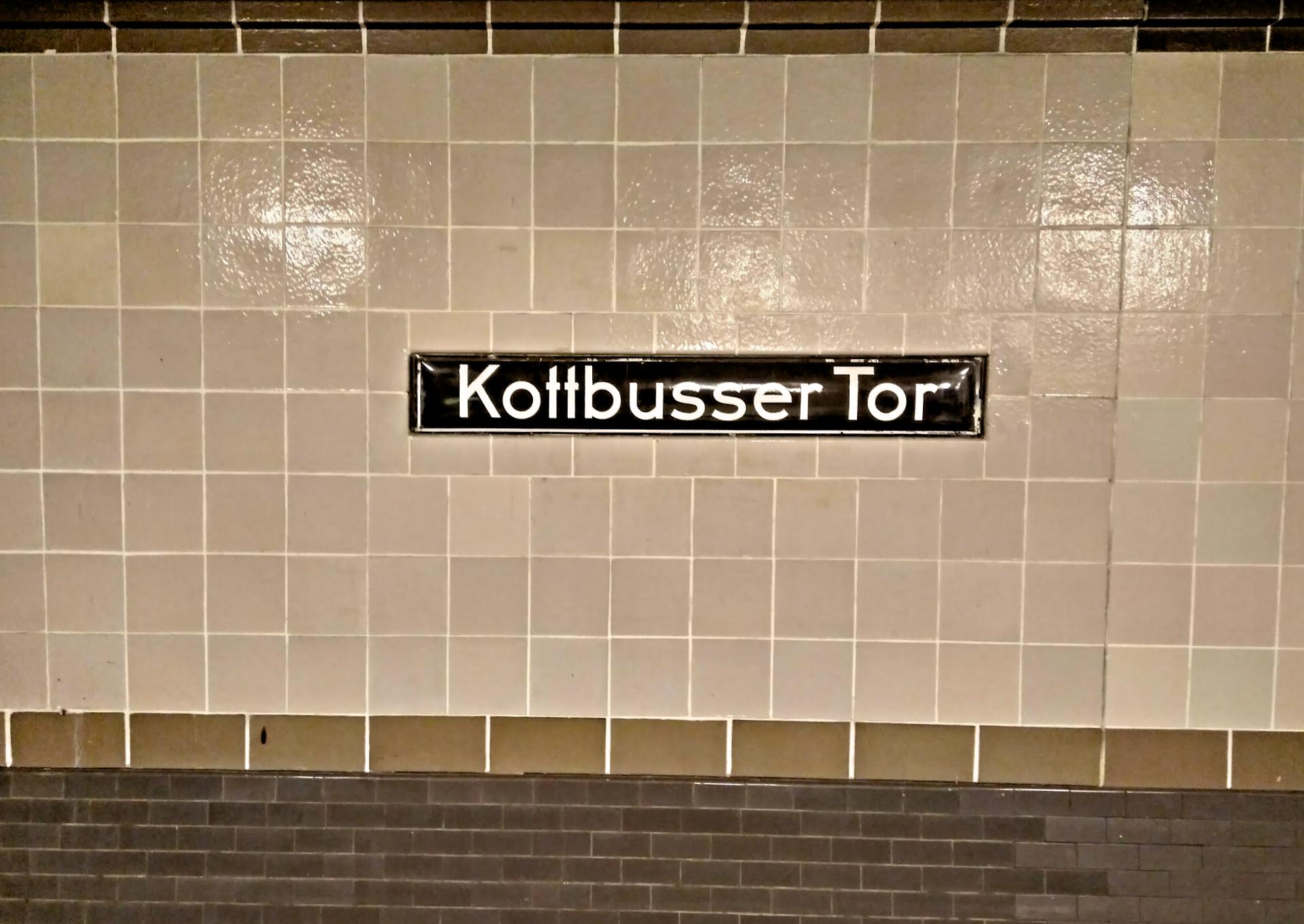 Kottbusser Tor U-Bahn Station