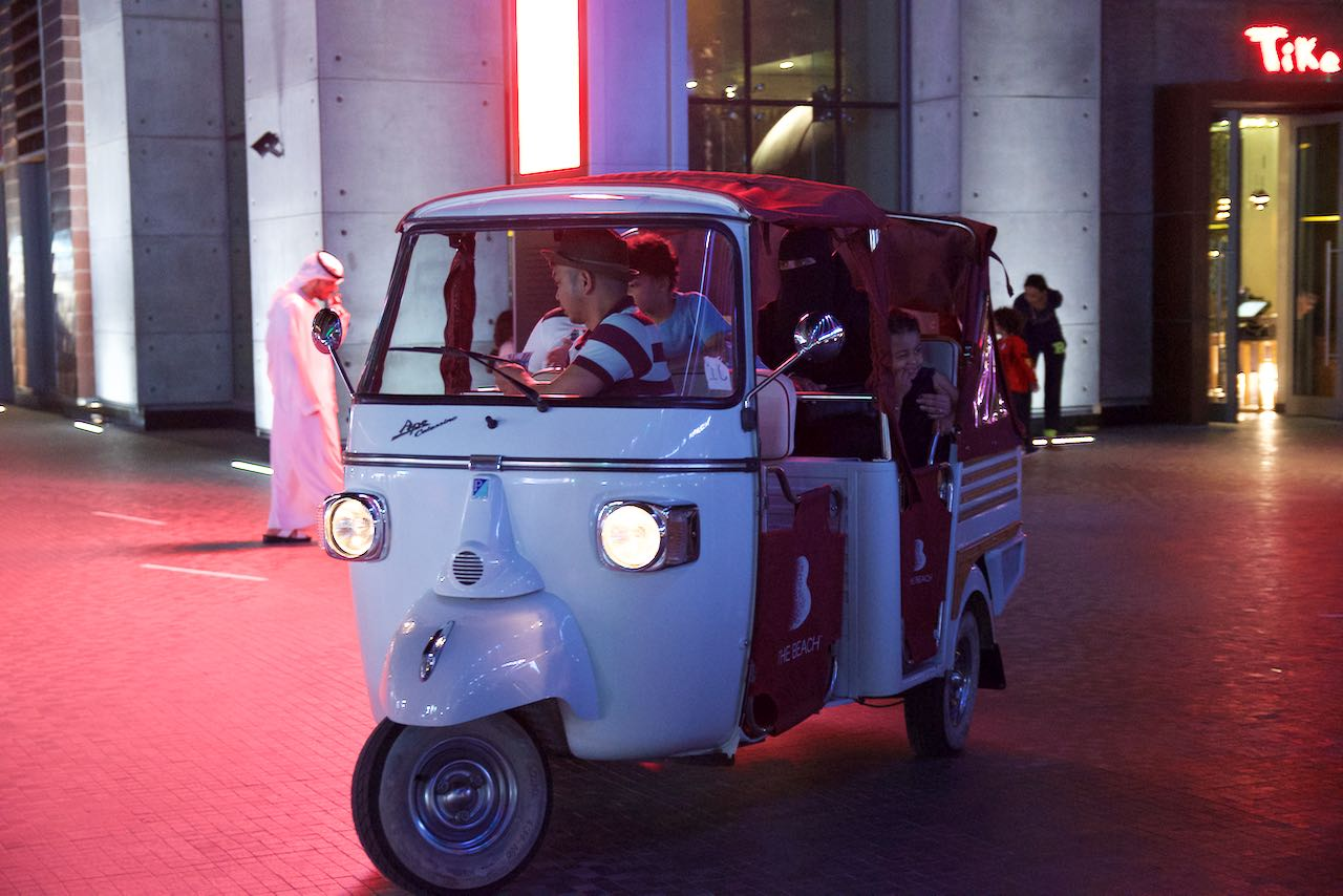 Dubai Tourist Car