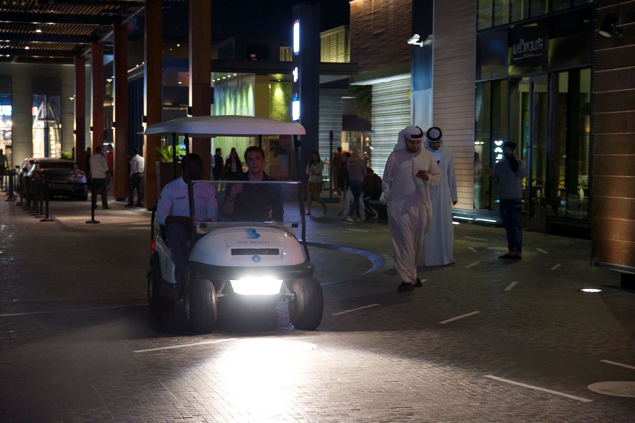 Dubai Golf Car