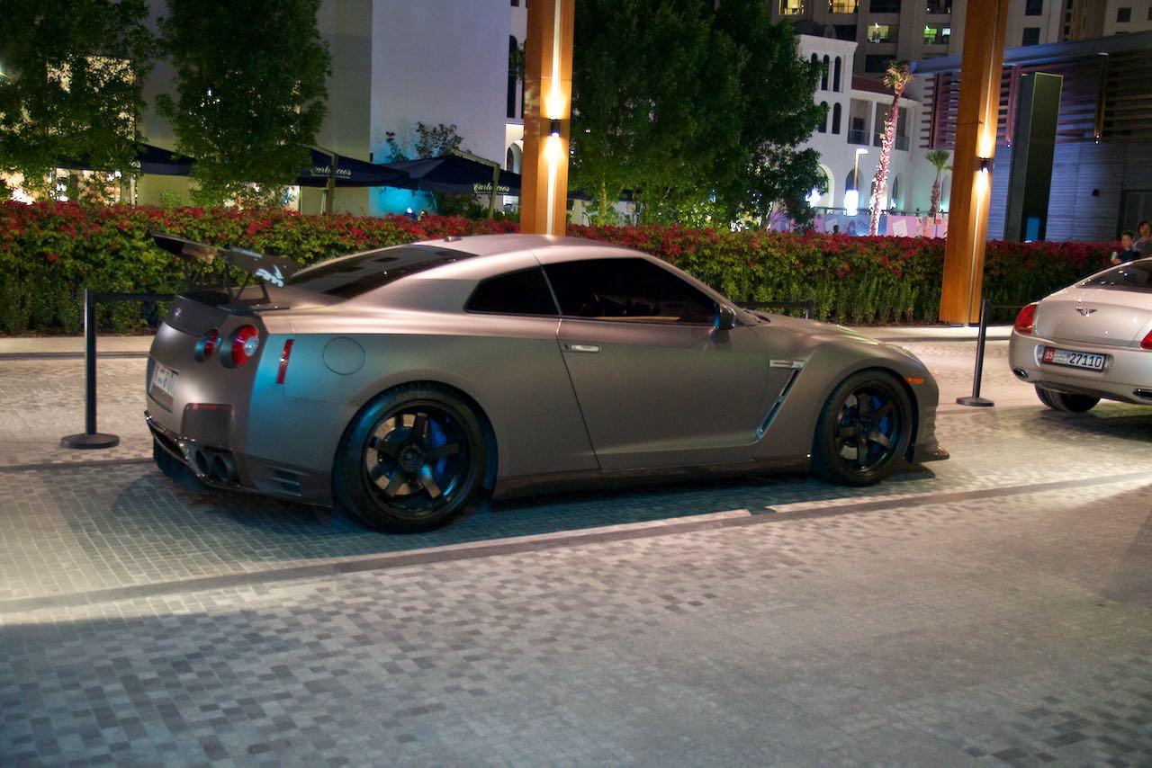 Nissan GTR Dubai