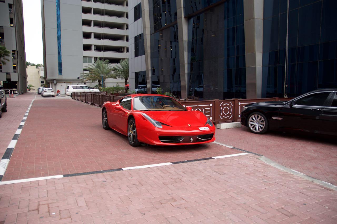 Ferrari 458 Dubai