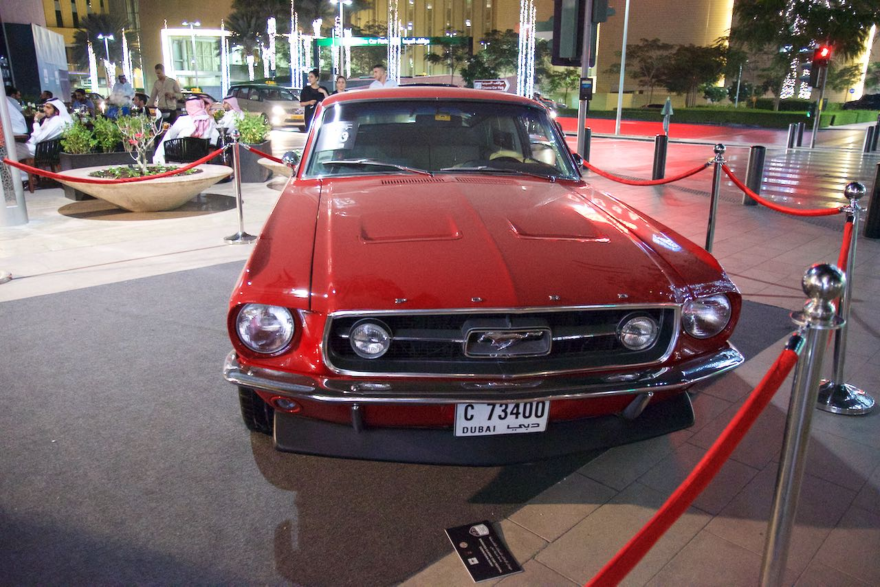 Dubai Classic Cars: Ford Mustang