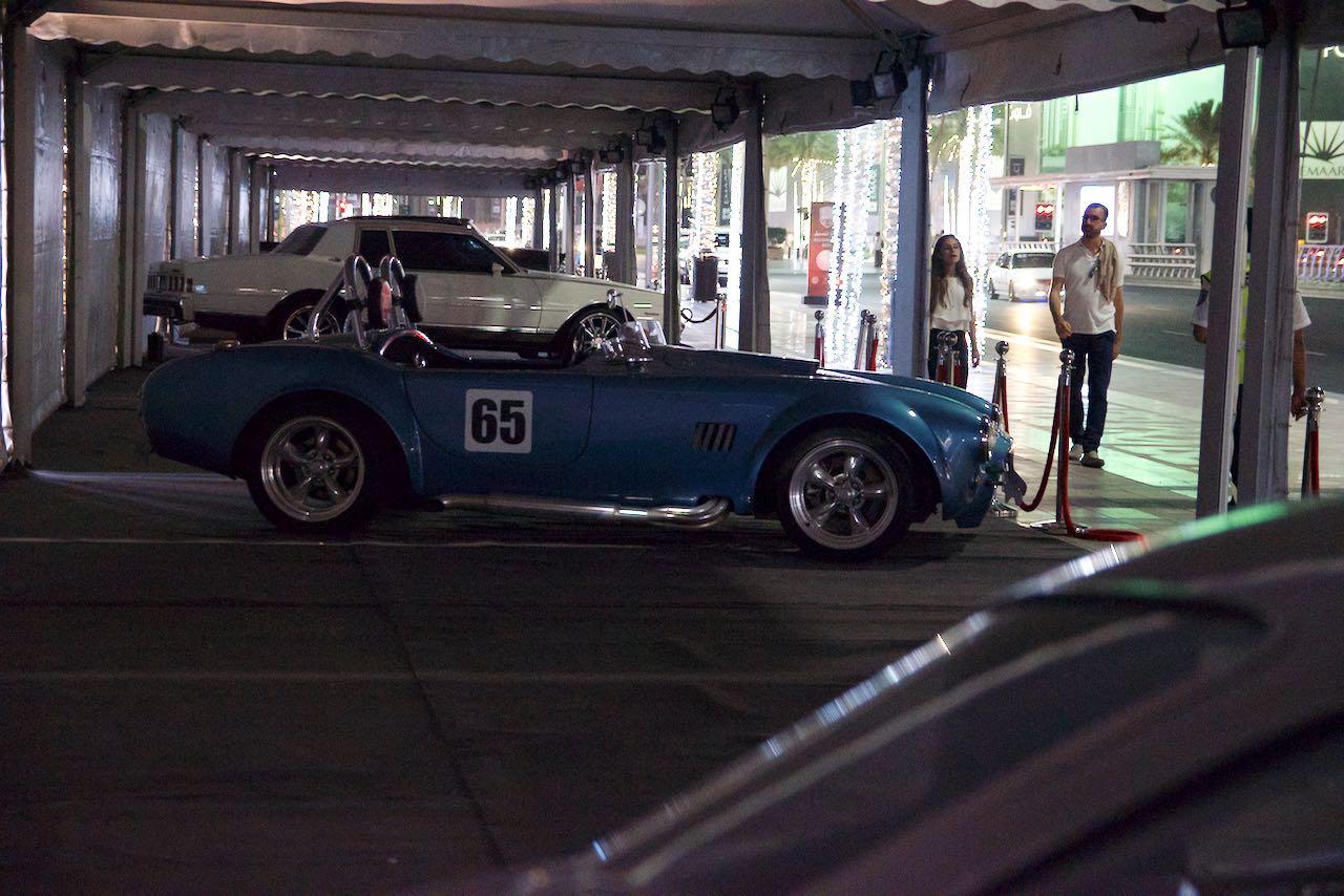 Dubai Classic Cars: AC Cobra