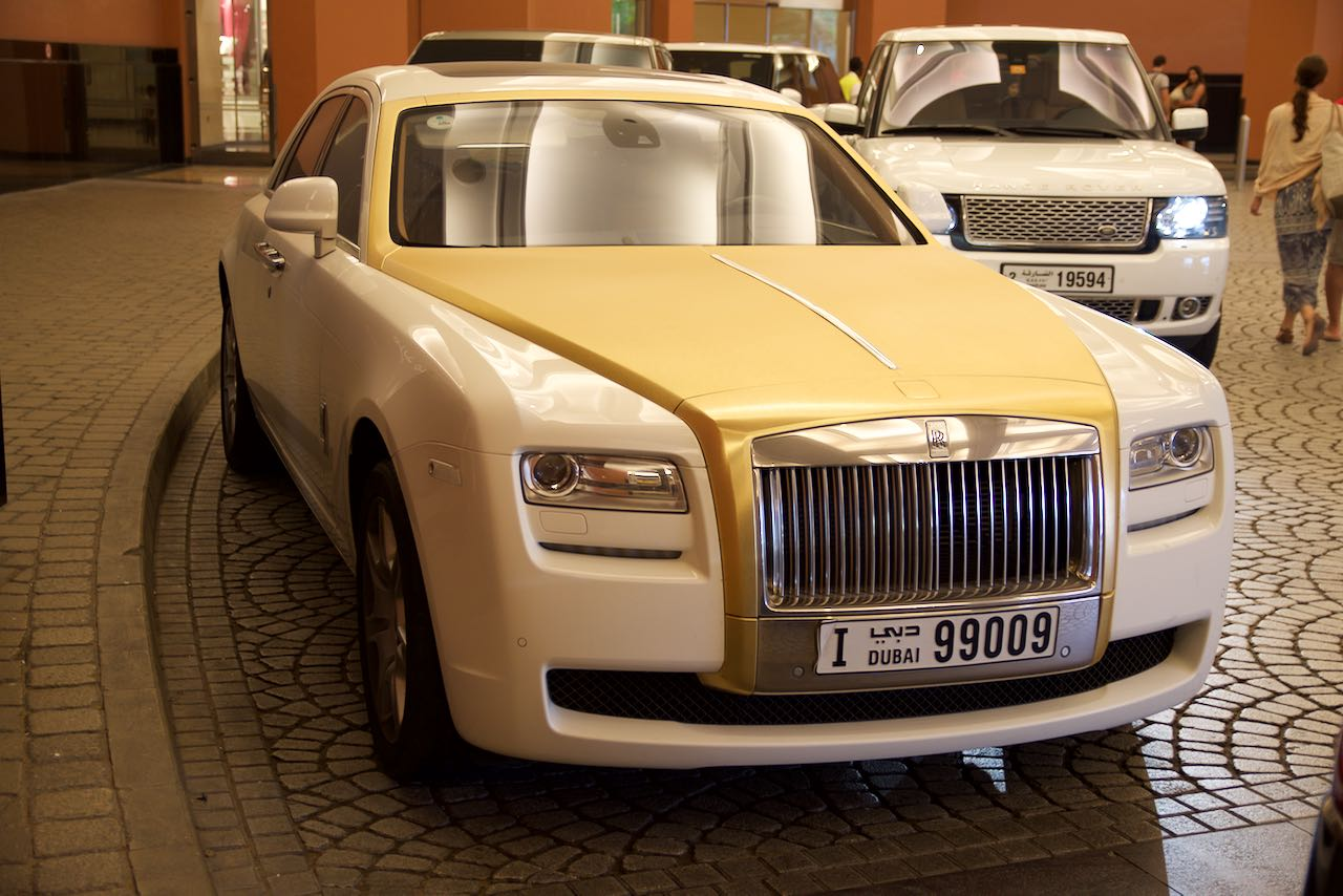 Rolls-Royce Phantom Dubai Mall