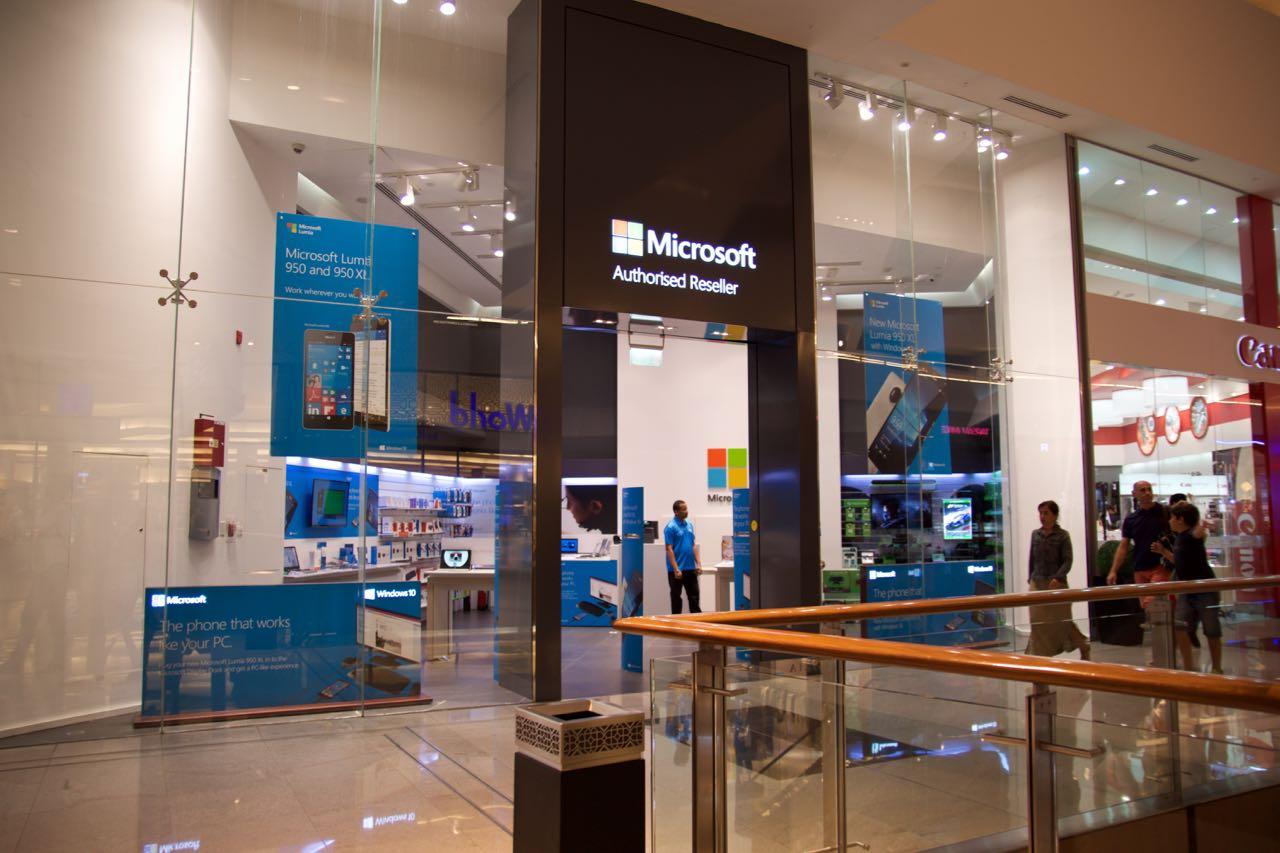 Microsoft Dubai Mall